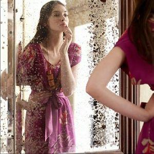 """Anthro """"Windfall"""" Silk Dress by Moulinette Soeurs"""